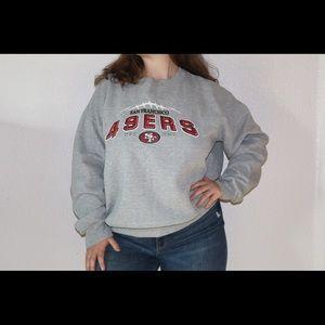San Francisco 49ers Crewneck Sweatshirt